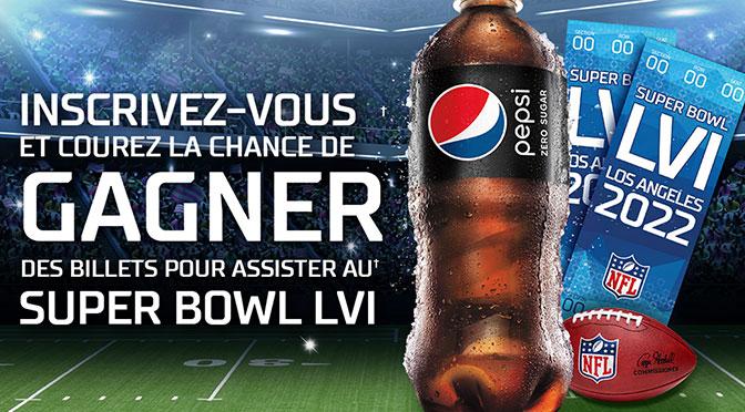 Concours Pepsi Super Bowl 2022 LVI