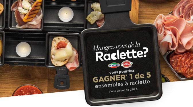 Concours Mangez-vous de la raclette Mastro