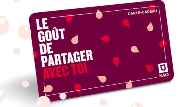 Concours Carte-cadeau SAQ à gagner 2021