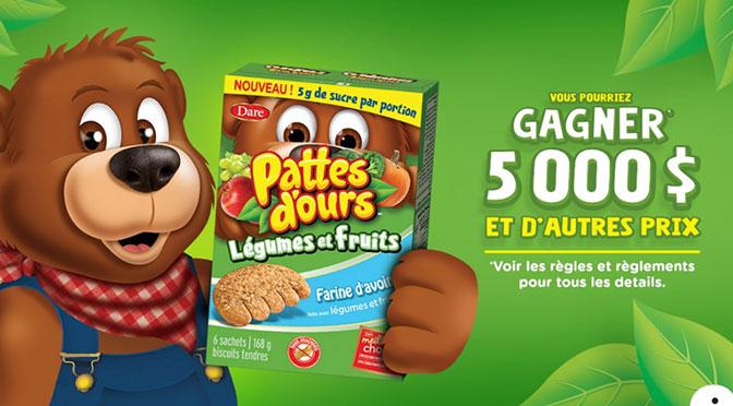 Concours Pattes d'ours