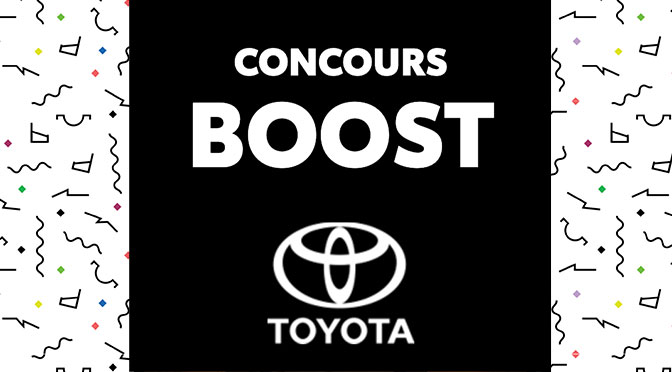 Concours Toyota Boost