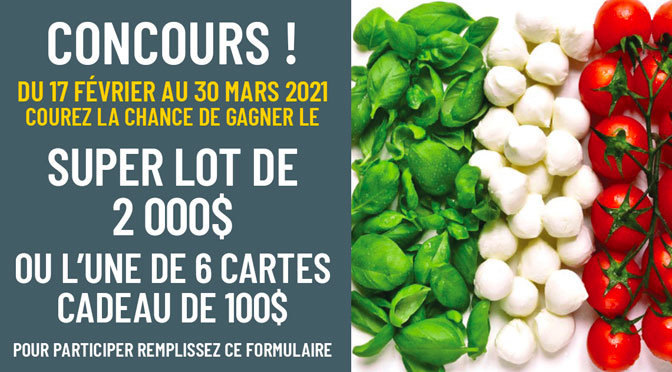Concours Mayrand Entrepot d'alimentation