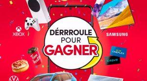 Concours Déroule le Rebord pour Gagner Tim Hortons 2021