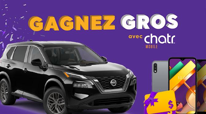 Concours Gagnez Gros de Chatr mobile