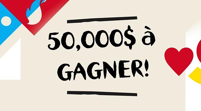 Concours Nando's 50000$ à gagner pour réaliser ses rêves