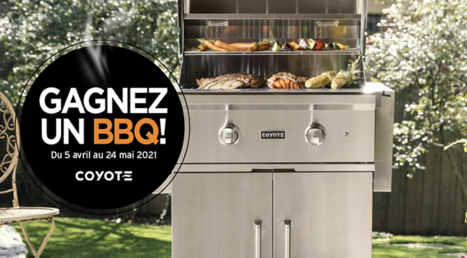 Concours JC Perrault BBQ Coyote