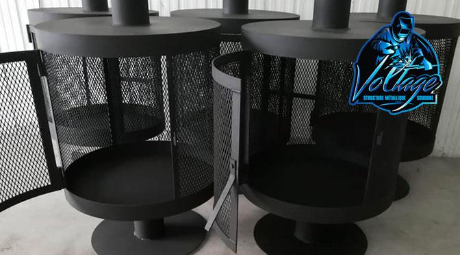 Concours Voltage Structures Métallique - Foyer extérieur à gagner