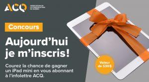 Concours ACQ Apple Ipad mini
