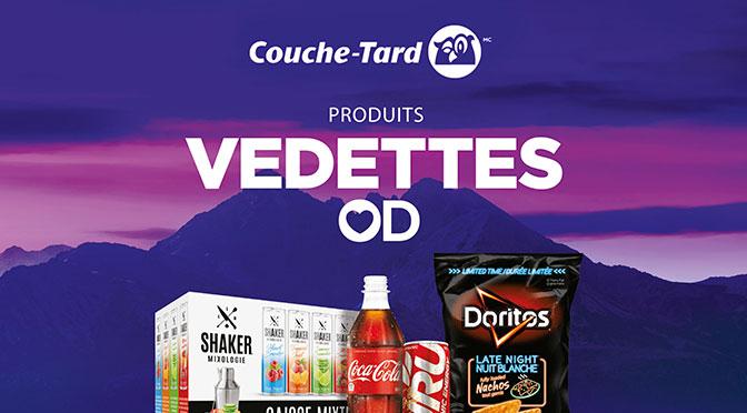 Concours Produits Vedettes OD Couche-Tard