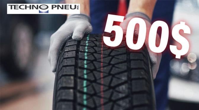 Concours techno pneus 2021