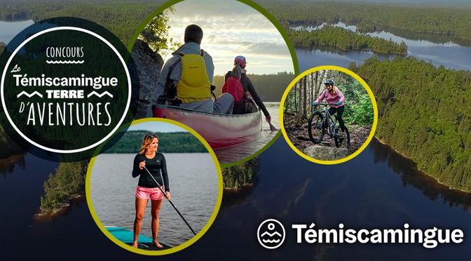 concours Témiscamingue Terre d'aventure TVA
