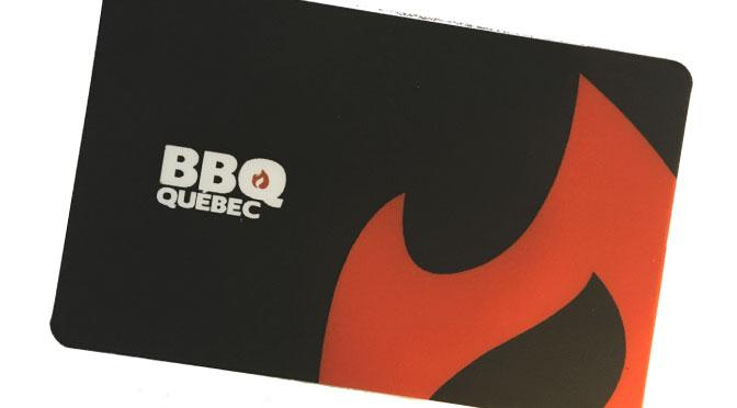 BBQ Québec Carte-cadeau 50$