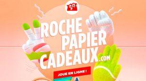 Concours Couche-Tard Roche Papier Cadeau 2021