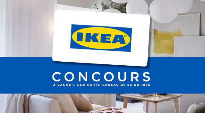 Concours du mois mai IKEA