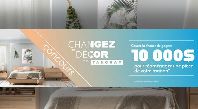 Concours Changez de Décor carte cadeau TANGAY