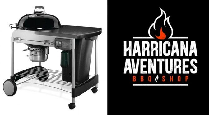 Concours François Charron BBQ WEBER PERFORMER DELUXE Harricana Aventures