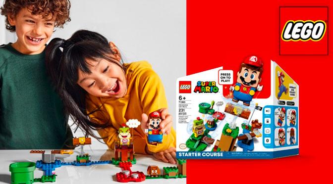 Concours Francois Charron Super mario Lego