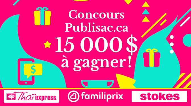 Concours cartes-cadeaux Thai Express Familiprix Stokes et Publisac 15000$