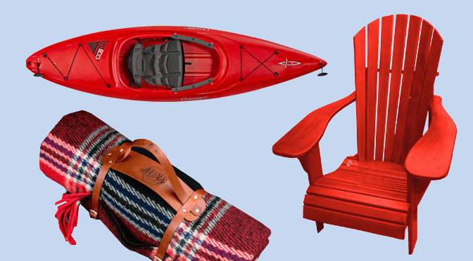 Concours Saputo Kayak Chaise Muskoka Panier et Couverture