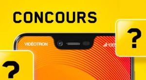 Concours Vidéotron GIGUEZ À PLEINE VITESSE Samsung S21+5G
