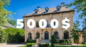 Concours Sotheby 5000$ 15è anniversaire