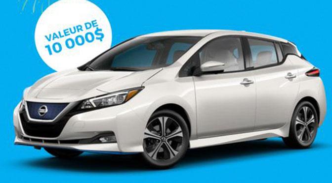 Concours Voiture Electrique Nissan
