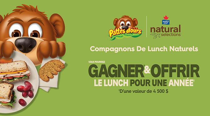 Concours Les Aliments Maple Leaf