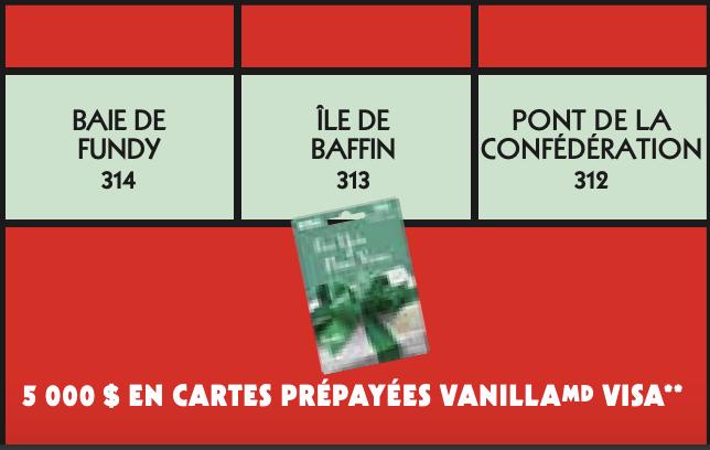 Vignette rouge Monopoly 2021