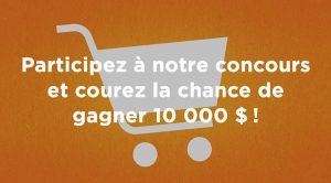 Concours the little potato argent pour l'épicerie