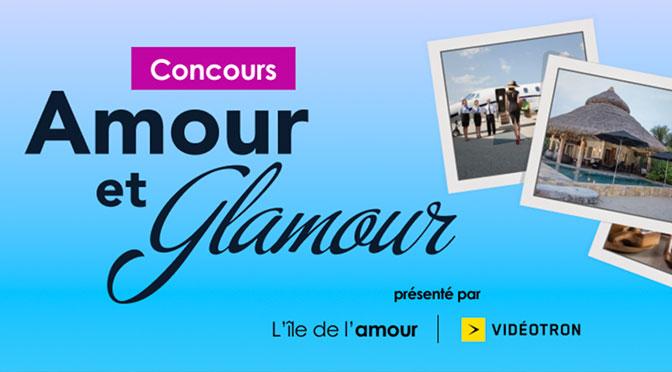 Concours Amour et Glamour ïle de l'amour à TVA