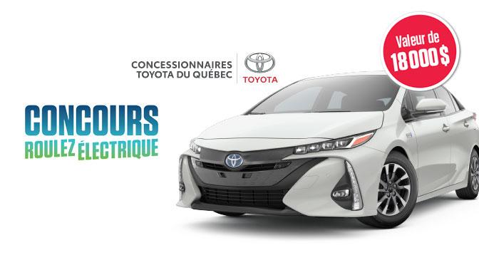 Concours Toyota Prius 2022