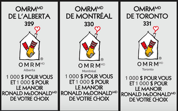 Vignette manoir ronald mcdonald (OMRM) Monopoly 2021