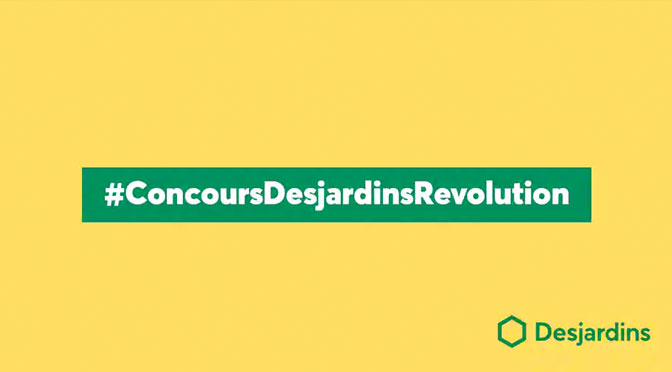 Concours Desjardins Revolution 5 prix 5 bourses à gagner