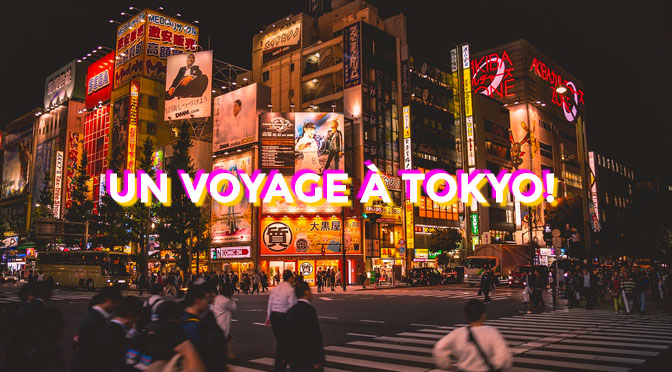 Concours séjour pour 2 personnes à Tokyo