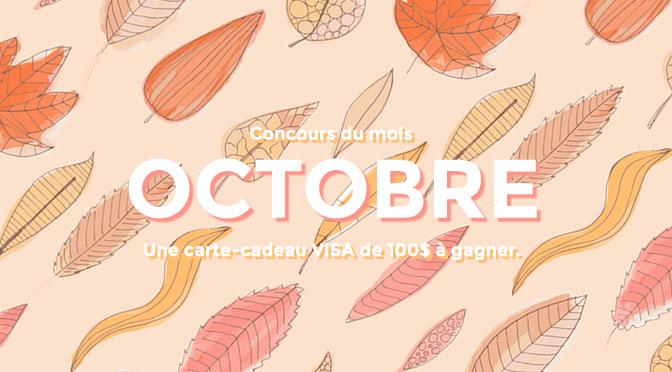 Concours du Mois Octobre 2021